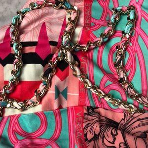 Versace Jeans Collection Dresses - New Versace Jeans Chain shoulder strap dress Sz 6